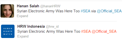 Human-right-watch-twitter-account-hacked-by-Syrian-Electronic-Army-2 - Copy