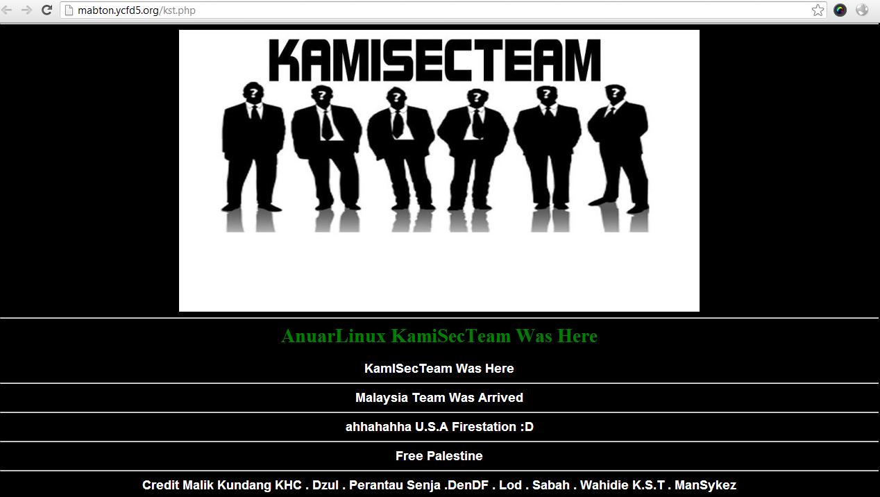 Malasyian-hackers-kamisec-team