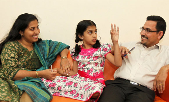 Miracle Girl Nandana has access to mother's memory