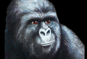 NullCrew Hacks Time Warner For Supporting Copyright Alert System, leaves gorilla cartoon deface image