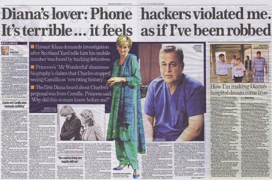 Princess Diana Had Her Phone Hacked Back in mid 90's