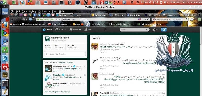 Qatar-foundation-hackedby-Syrian Electronic Army