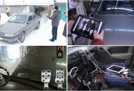 Hacked Russian Car that can be driven via #iPad [Video Included]