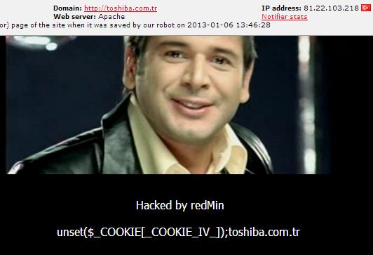 Toshiba-turkey-hacked-redmin
