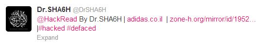 adidas-israel-hacked-by-drsha6h