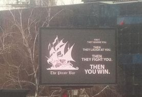 Serbian Students Hack Billboard, Display Advert in PirateBay's support [Video Included]