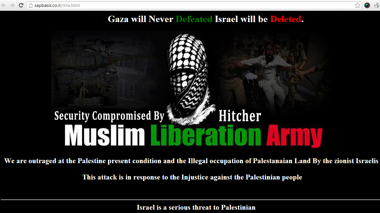 hitcher-hacker-muslim-liberation-army-israeli-sites-hacked