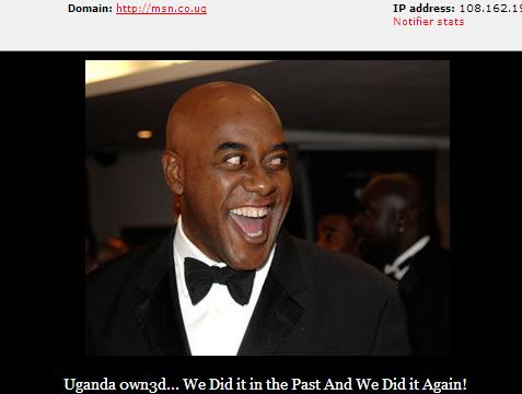 msn-uganda-hacked-by-pakbugs