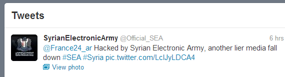 syrian-electronic-army-France-24-twitter-hacked