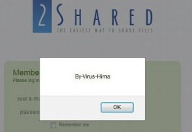 XSS Vulnerability found on 2shared.com by Virus_Hima, who Hacked Yahoo last year