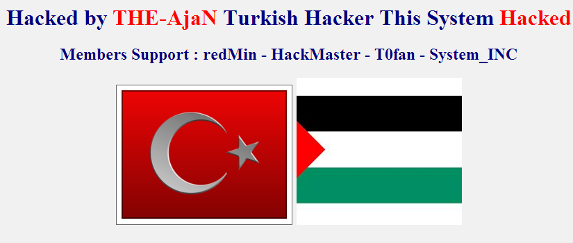 Bosnia & Herzegovina Ministry of Defence Website Defaced by The Ajan Turkish Hackers