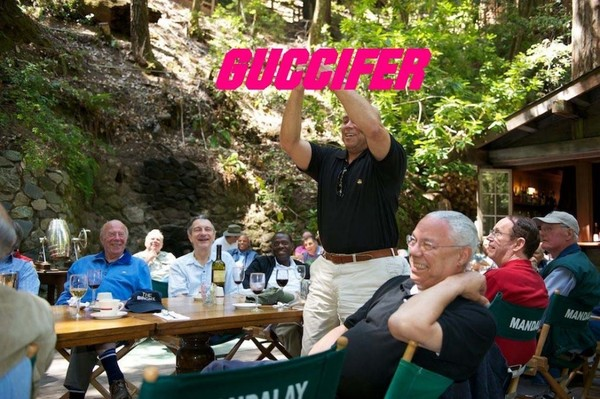 Guccifer-Hacked Photos Show Colin Powell At Bohemian Grove-1