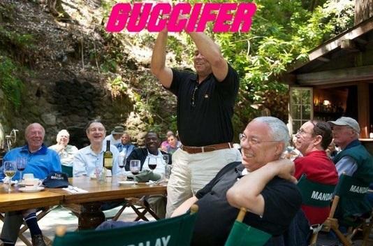 Hacked Photos Show Colin Powell At Bohemian Grove