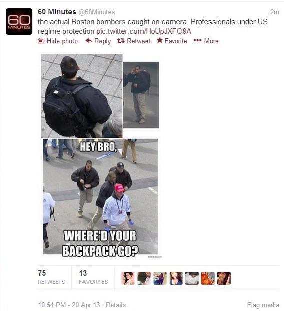 Hackers Hijack CBS To Claim Obama Involvement in Boston Bombings