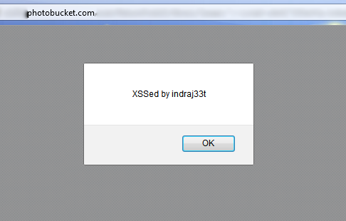 Indian Security Researcher Founds XSS Vulnerability in Photobucket.com