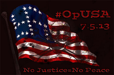 #OpUSA: Hackers Claim to Leak 40,000 Facebook accounts for #OpUSA