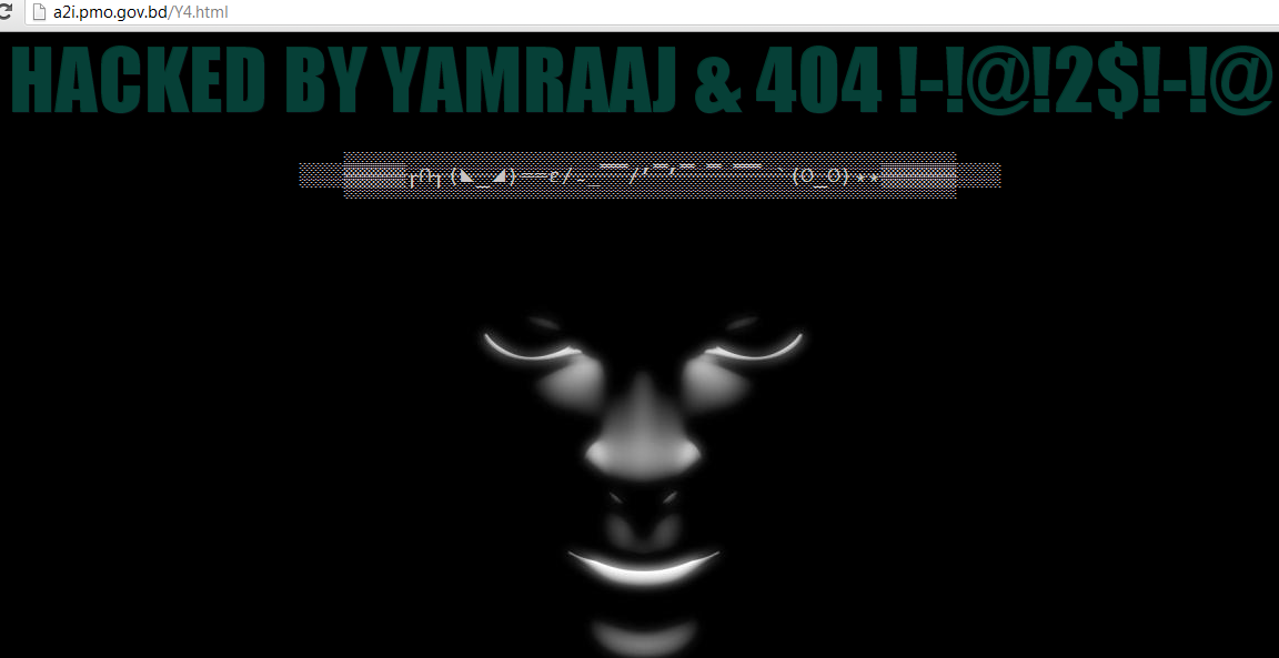 Website of Bangladesh Prime Minister's Office Hacked & Defaced by Indian Hackers