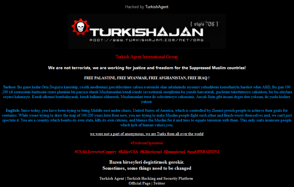 City of Lansing, Michigan Website Hacked, Financial Details Leaked by Turkish Ajan Hacking Group