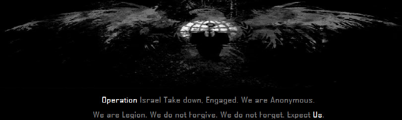 #OpIsrael-52- Israeli- Websites- Hacked- and- Defaced- by -Anonymous- Hackers