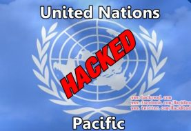Official United Nation Pacific Website Hacked by Pakistani Hacker