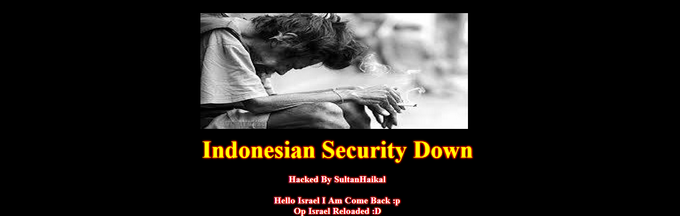 #OpIsrael-102-israeli-sites-hacked-sultanhaikal-Indonesian-hacker
