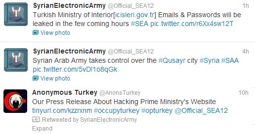 #OpTurkey-Turkish Prime Minister and Government Websites Hacked by Hacktivists