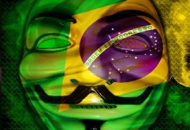 Anonymous Hacks Brazil's Largest Magazine VEJA's Twitter account, invites people to Protest against Government