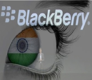 BlackBerry allows Indian government a direct access to emails and Chats