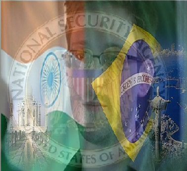 India, Brazil and France Rejects Snowden's Asylum Request