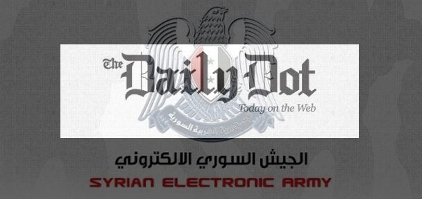 Syrian Electronic Army hacks Online Newspaper The Daily Dot, removes article