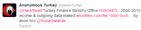 turkish-finance-ministry-office-hacked-2006-2010-income-outgoing-data-leaked-by-anonymous