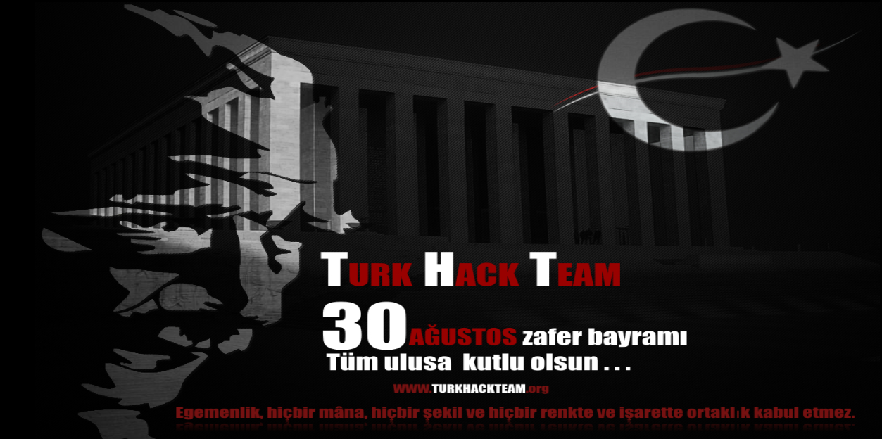 TurkHackTeam celebrates Turkey's Victory Day by hacking 350 websites