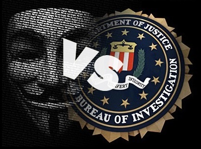 Anonymous VS FBI: Retaliation, leaks data from FBI network, hacks Spanish government over corruption
