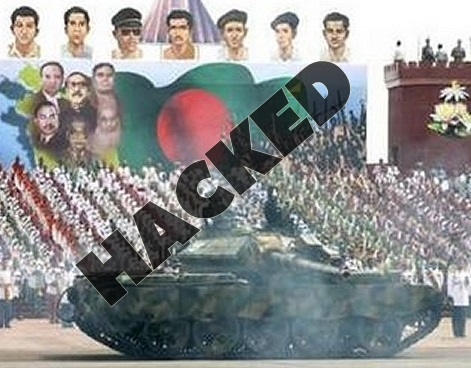 EXCLUSIVE: Bangladeshi Armed Forces Media Directorate (ISPR) Website Hacked by Saudi Hacker