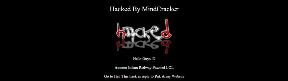 official-website-of-indian-railways-hacked-by-pakistani-hacker
