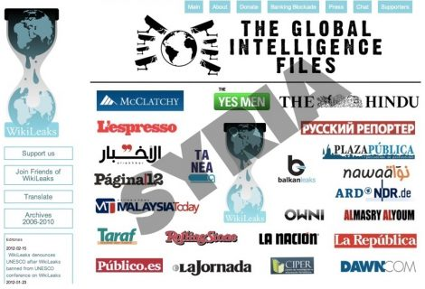 WIKILEAKS RELEASE Syria: 84,067 sensitive emails from US intelligence contractor Stratfor