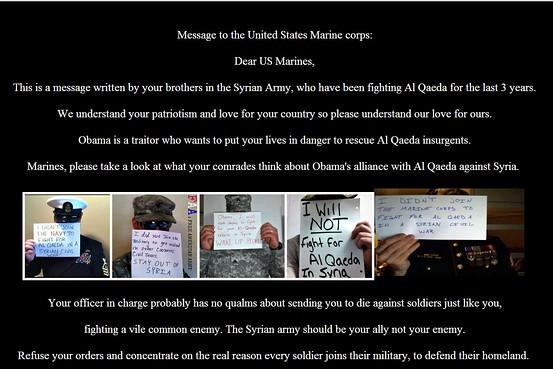 Syrain Electronic Army Hacks U.S. Marines website