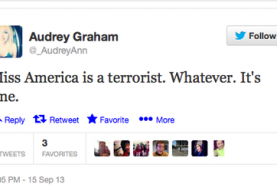 Miss America Faces Abuse, labeled as Terrorist on Twitter over Indian Descent