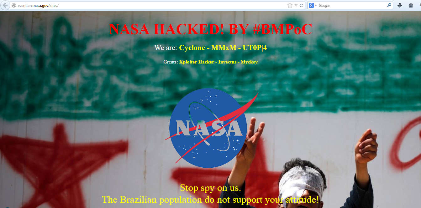 nasa-domains-hacked-BMPoC-against-nsa-spying-syrian-war