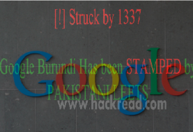 Pakistani Hackers Defaces Google, Google Images and Google Translator Domain for Burundi