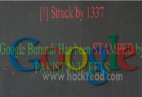 Pakistani Hackers Defaces Google, Google Images and Google Translator Domain for Burundi