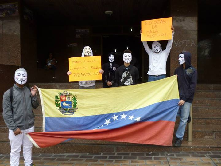 Anonymous Venezuela Defaces Venezuelan Police and Military Websites for #Op15O