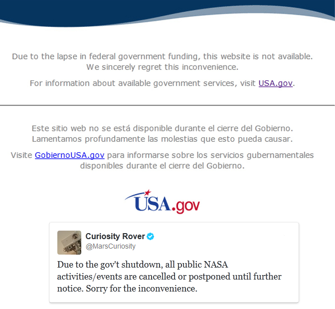nasa-and-national-park-websites-taken-down-following-government-shutdown