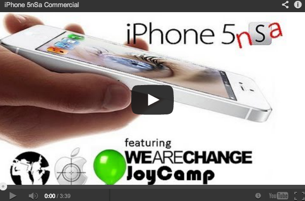 iPhone 5 NSA Commercial (Great Video)