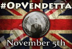 #OpVendetta: Anonymous Calls for Massive Million Mask March on November 5th 2013