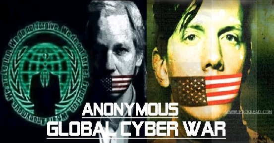 Anonymous Declares Global Cyber War on U.S. Government against Hammond's Sentence and NSA Spying