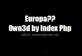 3 official European Union (EU) domains Defaced by Indonesian Defacer Index Php