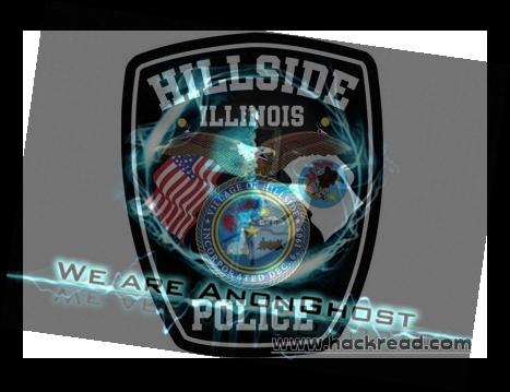 AnonGhost Hacks Hillside Illinois Police Department website against NATO Strikes