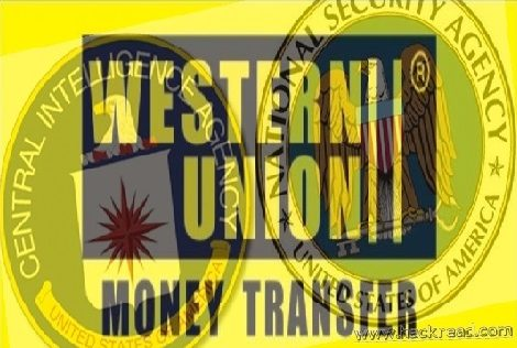 Following NSA' Footsteps: CIA collects records of money transfers' for its secret database