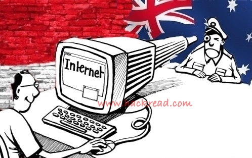 Protest Against Spying: Indonesian Gantengers Crew Hacks Australian National University Domain